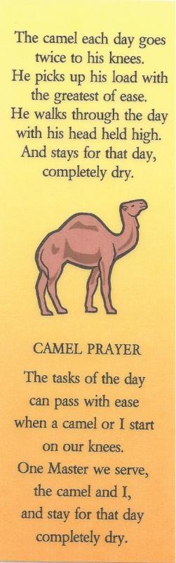 CamelPoemBookmark