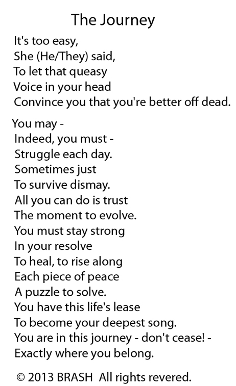 the journey poem