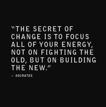 Build the New...