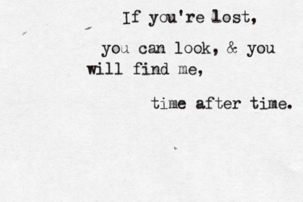 Time after Time Quote