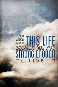 Strong in this Life