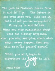 Let it Go...